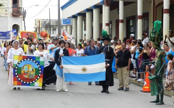 Las más disímiles expresiones de la cultura iberoamericana. Foto: Lázaro David Najarro.