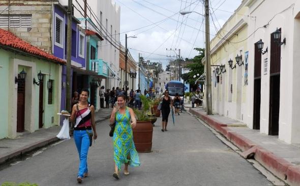Los visitantes podrán recorrer las calles de la ciudad de Gibara