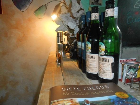 Presentes los vinos argentinos