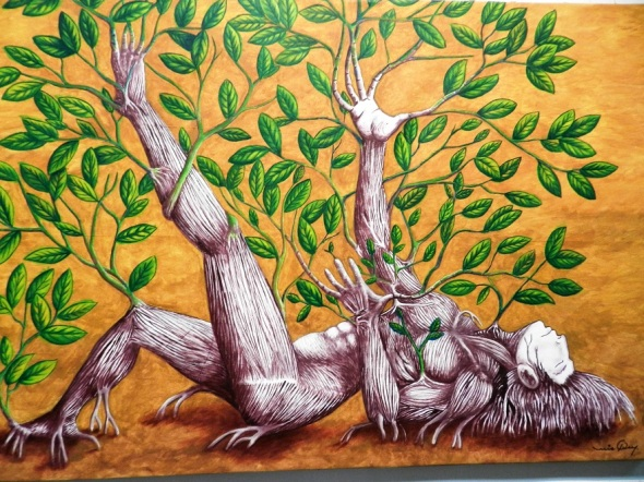 Renacer. Acrílico-lienzo 66 x 102 cm