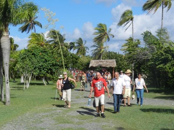 Sitio por donde desembarco Cristobal Colon