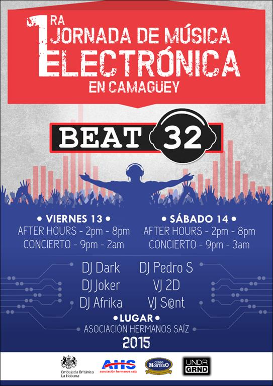 Cartel Jornada Beat 32 - compress