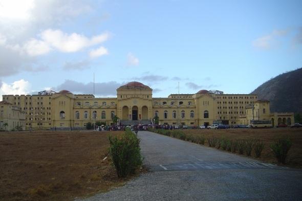 Edificio central del otrora Presidio Modelo
