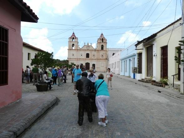 Plaza del Carmen, uno de los segmentos antiguos mejor conservados de Camagüey.