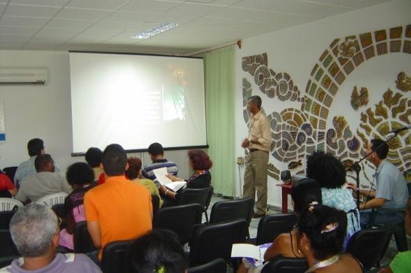 Una de las sesiones  de evento anteriores