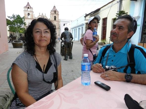 Valeria y Ricardo Martínez, quienes proceden de la ciudad de Santa Fe, en Nuevo México, Estados Unidos de América, resaltó la calidad