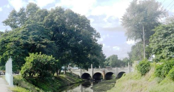 Actual Puente sobre el Río Hatibonico