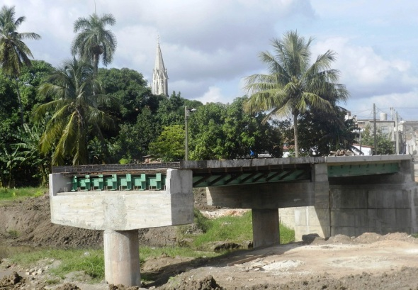 Asi se encuentra la ejecución del puente