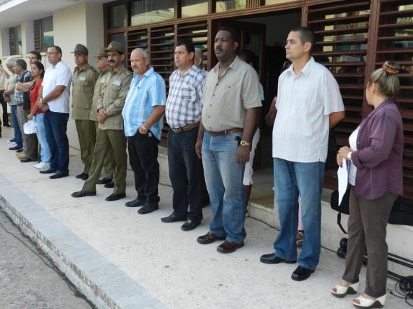 Autoridades de Camagüey