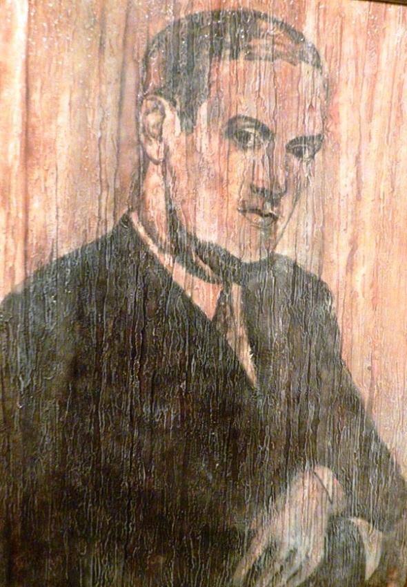 Ernesto Sixto de la Asunción Lecuona Casado. Acrilico-lienzo. 135 x 90 cm. 1915