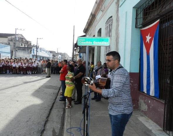 Homenaje en Camagüey a Cándido González (6)