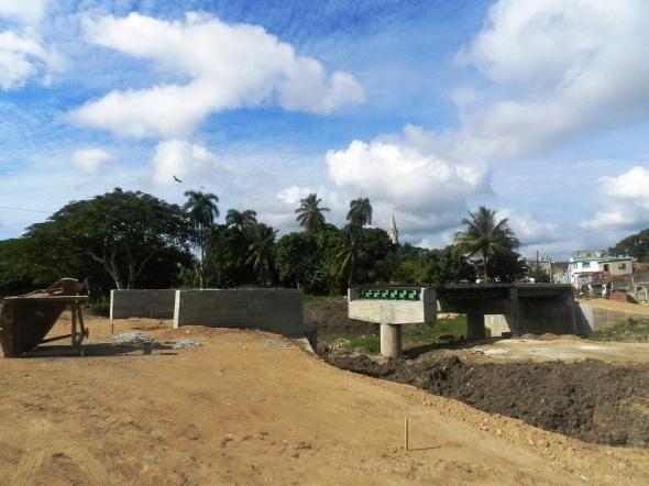 Nuevo Puente que enlazará la zona antigua con la nueva area administrativa