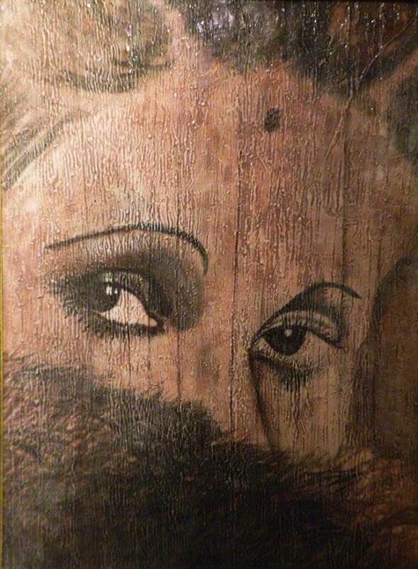 Rita Aurelia Fulceda Montaner Facenda. Acrilico-lienzo. 135 x 90 cm. 1915