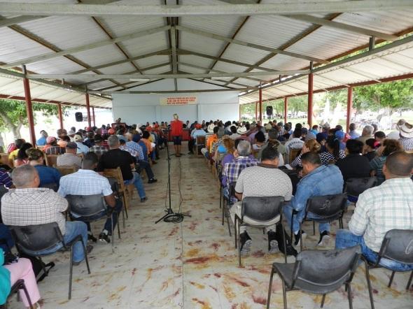 Activo usufrutuarios de tierras en Camagüey