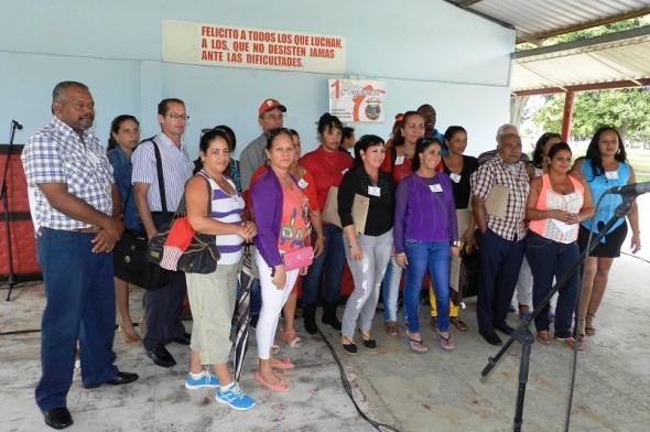 Comité municipal fortalecido