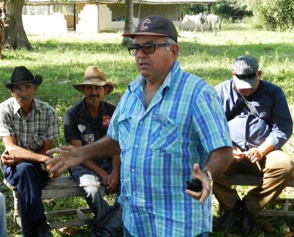Enrique Pérez Orta dispuesto a una mayor explotación de sus tierras