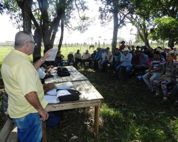 Gaspar Olivera, delegado de la agricultura en el municipio de Camagüey
