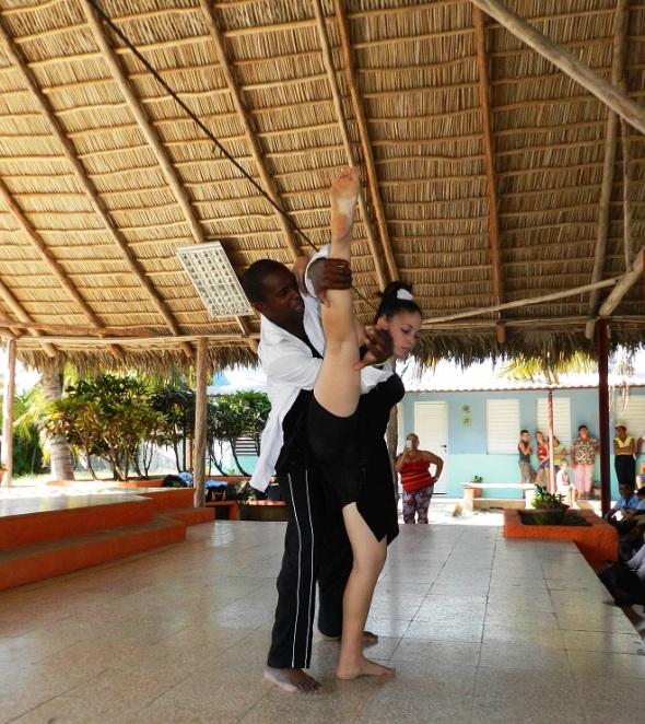 Kathy Leyva González  y Ramón González