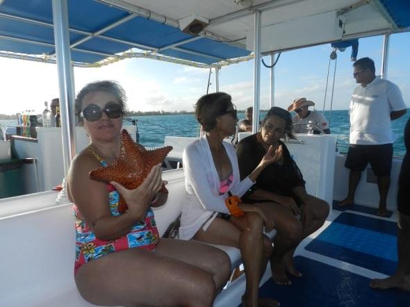 La turista colombiana radicada en Canadá, Alicia Calvo reveló que esta es la primera vez que visita Santa Lucía