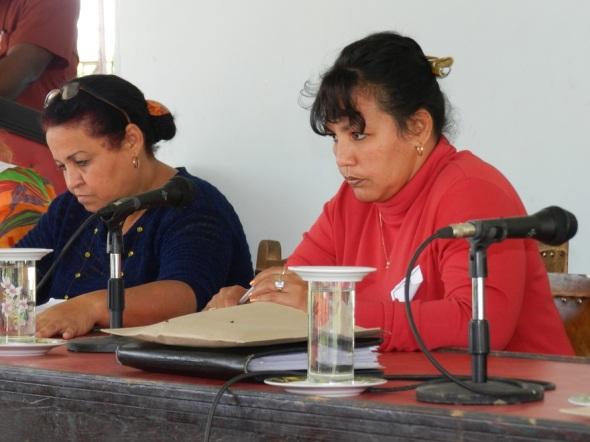 Marbelis Avilés Diéguez, nueva secretaria general del sindicato agropcuaria en el municipio de Camagüey