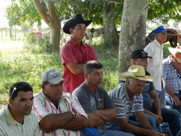 Raúl Olzabal dispuesto a asumir nuevas tierra para incrementar la producción