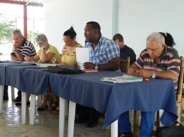 Walter Simón Noris, primer secretario del comité municipal del Partido Comunista de Cuba
