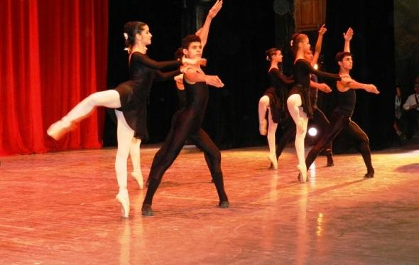 Ballet en Gala por los 502 años de la fundación de la  villa de Santa María del Puerto del Príncipe, hoy Camagüey. Cuba