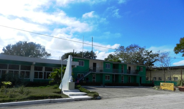 Ärea administrativa de la División de Talleres Vladimir Ilyich Lenin  de Camagüey