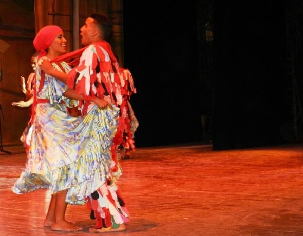 Camagua juvenil en Gala por los 502 años de la fundación de la  villa de Santa María del Puerto del Príncipe, hoy Camagüey. Cuba