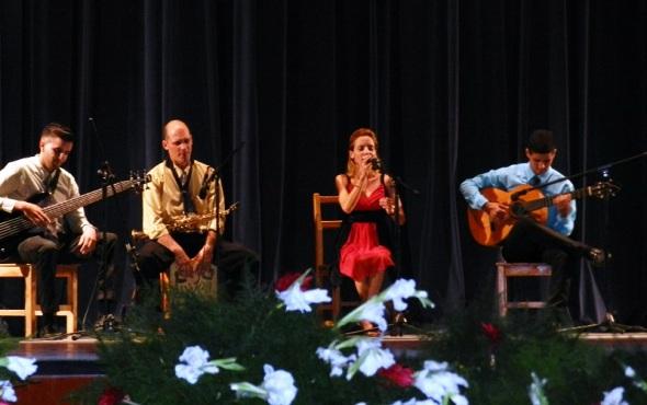 Cuarteto en Gala por los 502 años de la fundación de la  villa de Santa María del Puerto del Príncipe, hoy Camagüey. Cuba