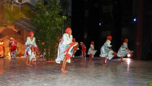 Folclor de Camagua en Gala por los 502 años de la fundación de la  villa de Santa María del Puerto del Príncipe, hoy Camagüey. Cuba