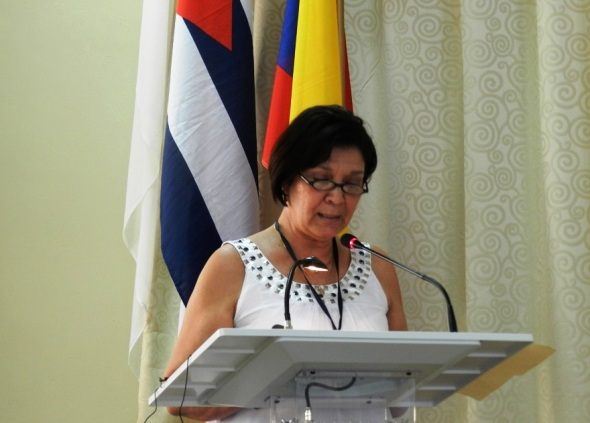 Martha Hurtado Cardoso, directora del Sello Editorial El Lugareño