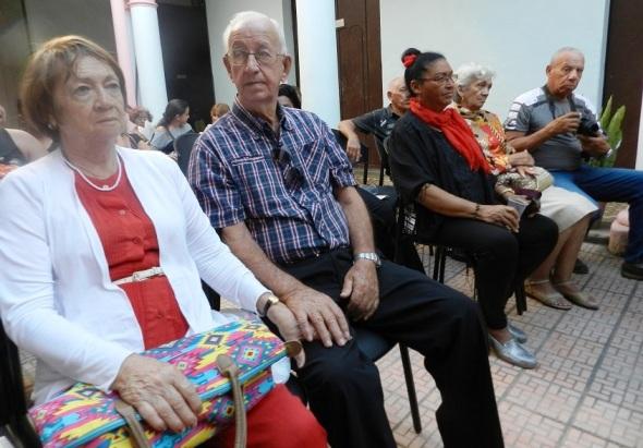 Participantes en la tertulia