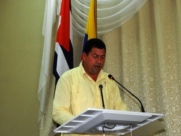 Yolexis Ramírez Sánchez, presidente de la Asamblea Municipal del Poder Popular