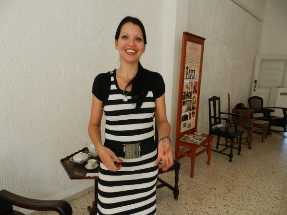 Anna Marye Rodríguez Domínguez, comunicadora cultural de la fundación Caguayo en Camagüey,