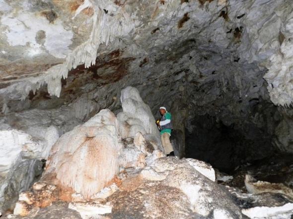 El guía de senderos del área protegida Limones- Tuabaquey, Yudiel Alarcón refiere que la gruta honra la memoria del prestigioso arqueólogo camagüeyano Felipe Pichardo Moya