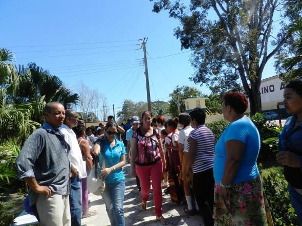 En la comunidad rural de San Antonio los habitantes, trabajadores industriales y agrícolas se sienten protagonistas