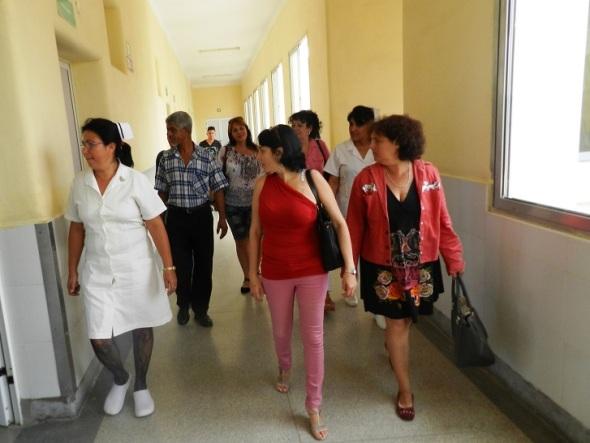 Periodistas de Radio Camagüey vistan  Hospital materno infantil de Camagüey