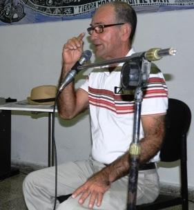 Sergio Morales Vera, presidente del comité agramontino de la UNEAC
