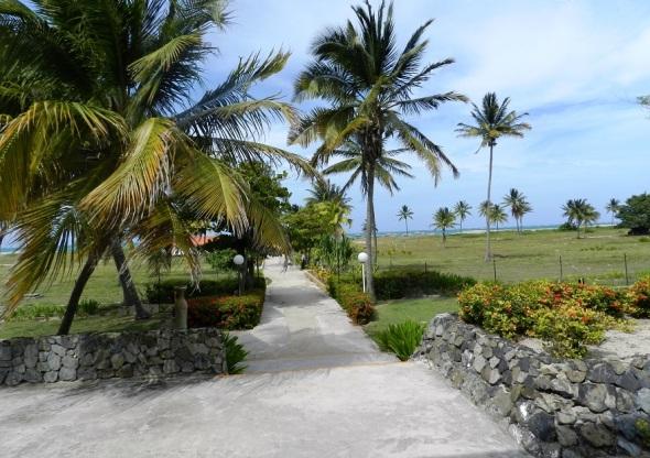 Area exterior del Mayanabo. Foto Lazaro D. Najarro