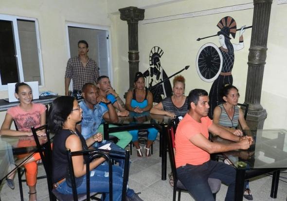 Casa del Joven Creador para el intercambio de los artistas jóvenes