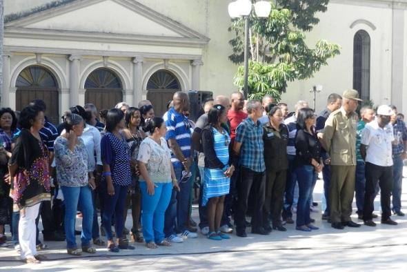 Delegados camagüeyanos al VII Congreso