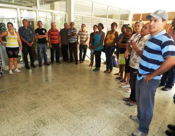 Delegados del territorio al VII Congreso del Partido Comunista de Cuba,