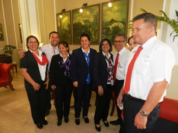Directivos de grupo Cubanacán en Camagûey