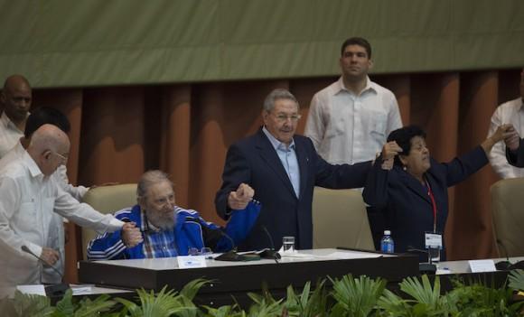 Fidel en el Congreso