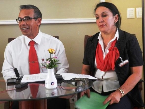 Juan José Díaz y Leonor Sabido