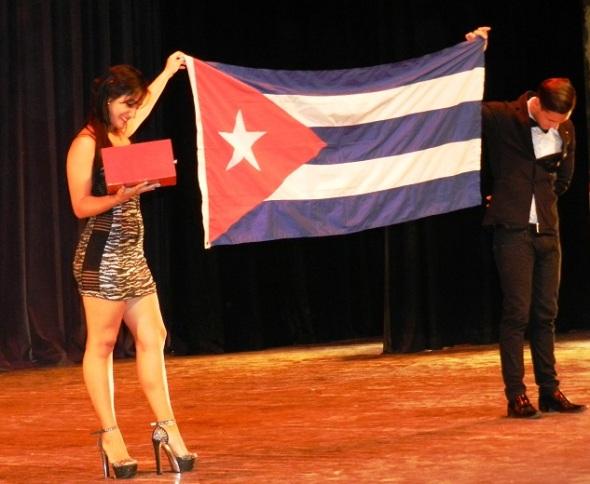 La cubanía en la Gala. Foto Lázaro D. Najarro Pujol