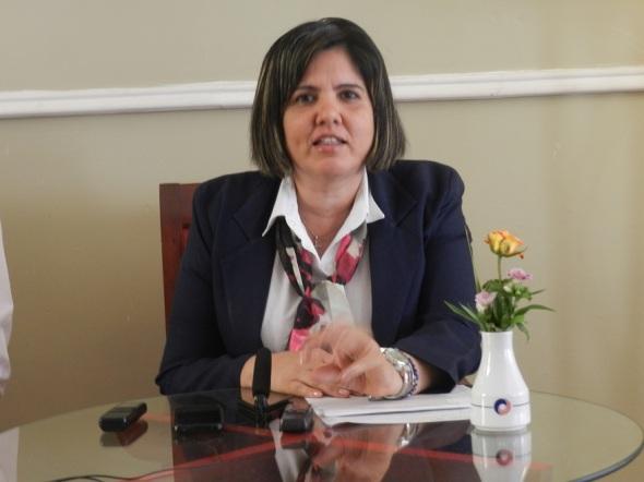 La sub directora comercial Yurina Otero ,