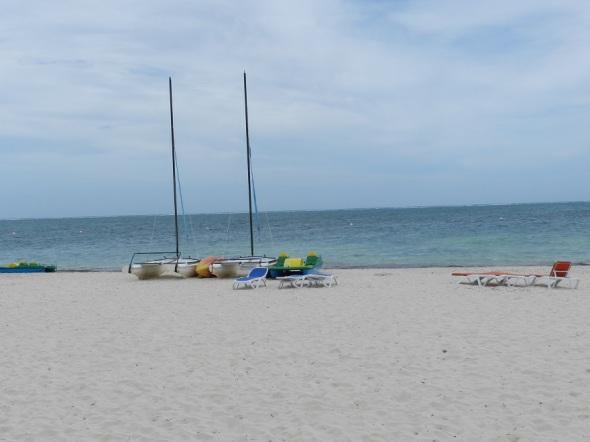 Los encantos de las playas de arenas blancas y finas.