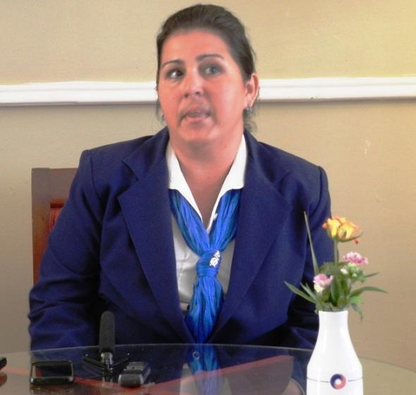 subdirectora comercial Lisbeth Miranda.